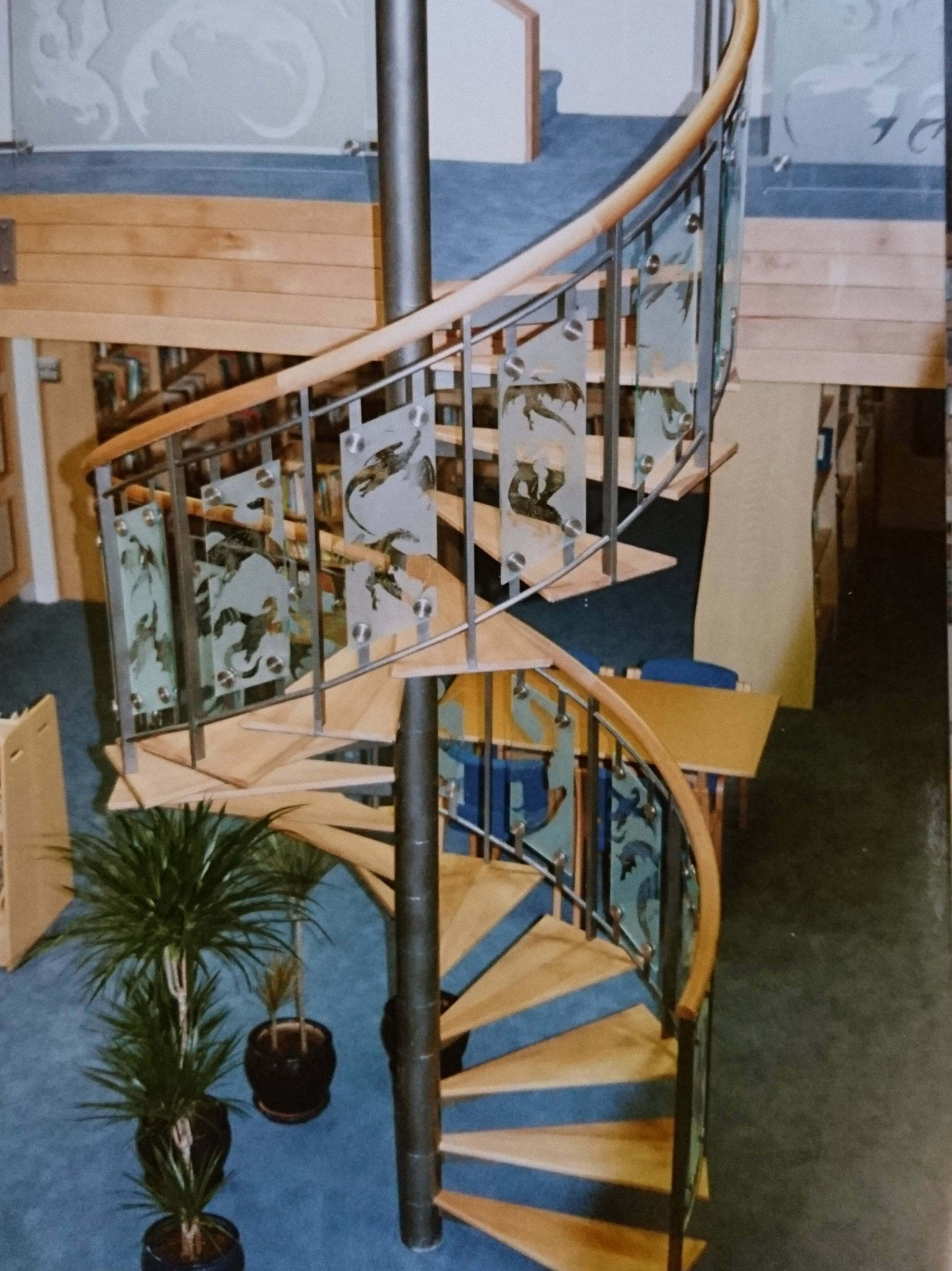 railings with img interior wood handrails glass