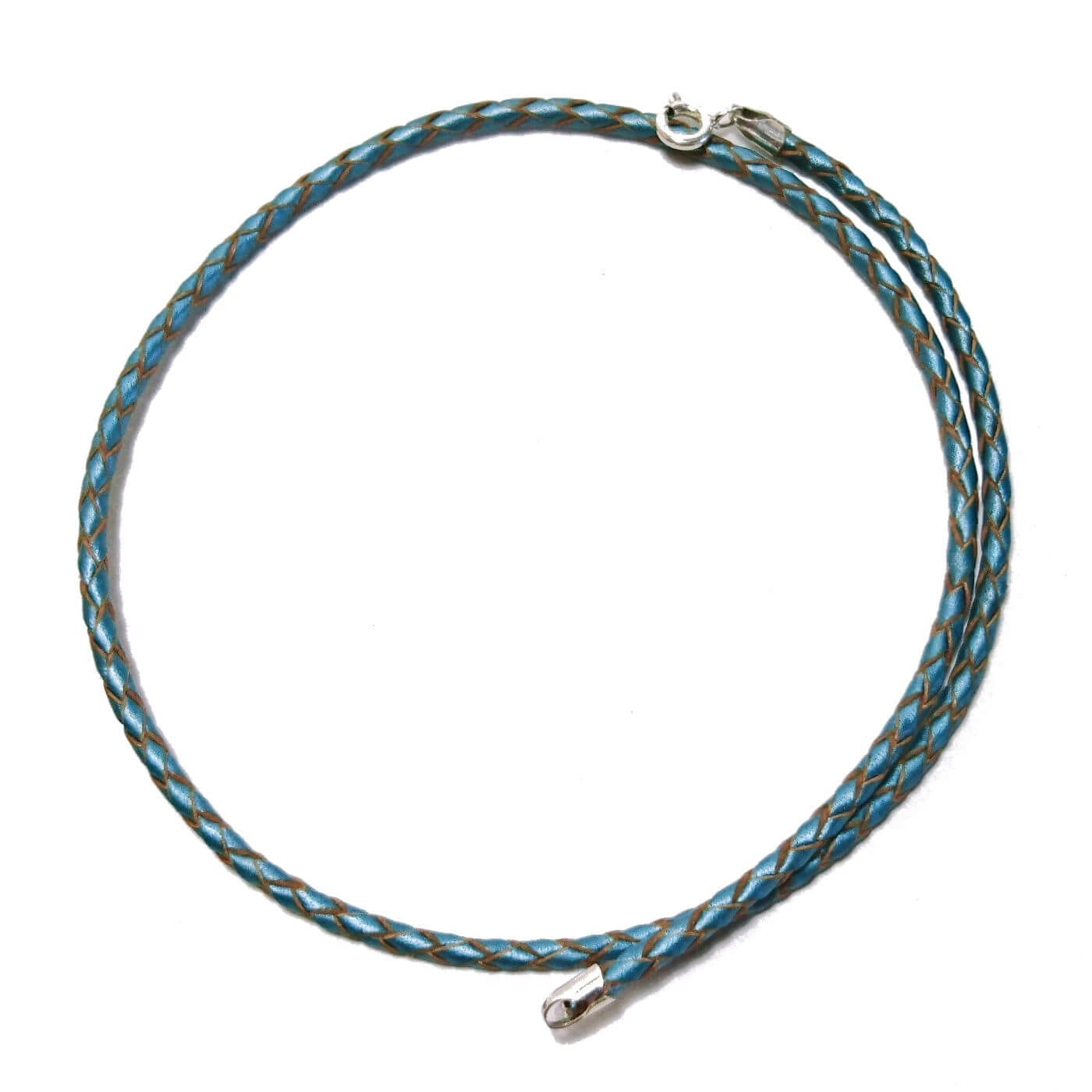 light-blue-metallic-braided-leather-necklace