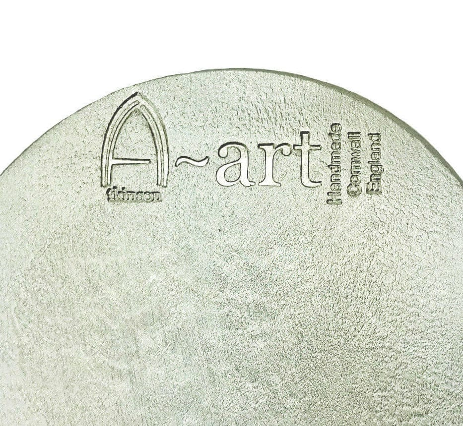 stack-candle-holder-handmade-metal-showing-atkinson-art-stamp