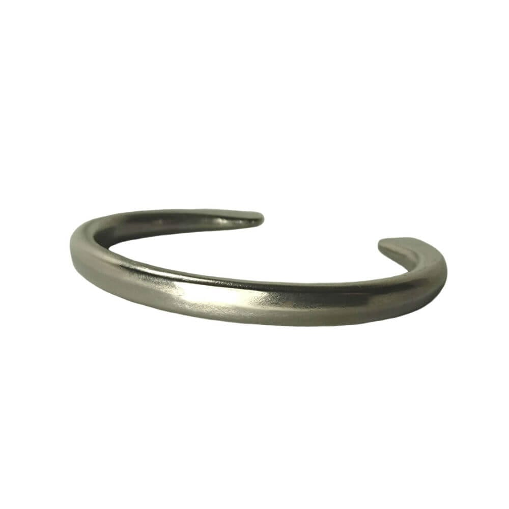Standard Polished No: 6 - Forged Titanium jewellery by Atkinson Art.