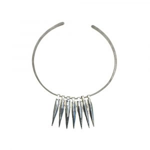 Bullet Silver 7 on Pure Titanium No:3 Choker by Atkinson-art, Cornwall, England , UK