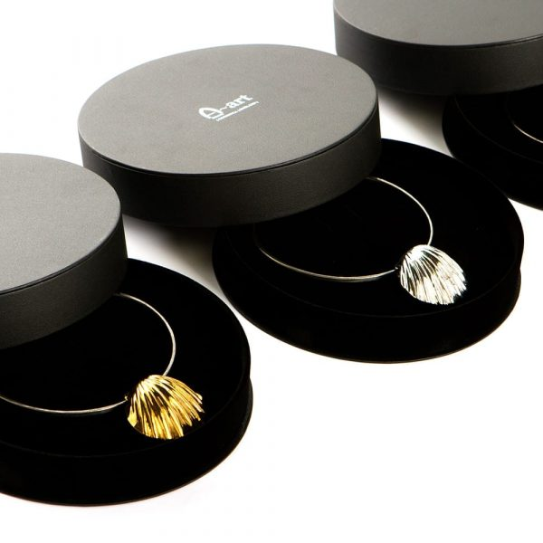 Statement Shells Gold and Silver in Luxury Gift Boxes by Atkinson-art, Cornwall, England, UK