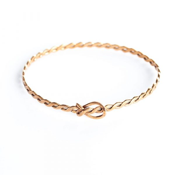 bronze adjustable bracelet