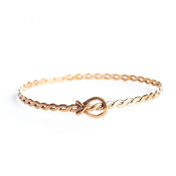 handmade bronze adjustable bracelet
