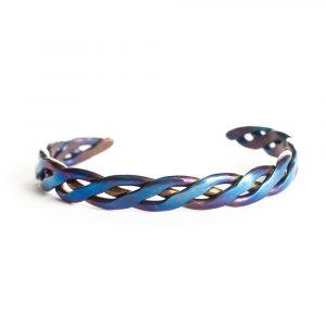 Blue titanium Bracelet