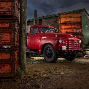 Chevy Wrecker 1948 - Custom Metals And Motors - Wolf And Dingo.com - Source - Design - Build - Tune - Photo Courtesy Jon Cooney